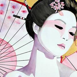Kimberly Walker - Maiko Watercolor