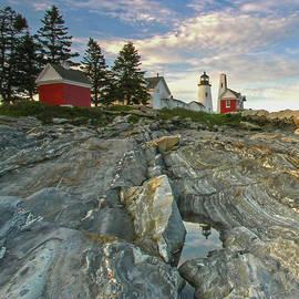 Juergen Roth - Maine Pemaquid Point Lighthouse