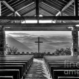 Reid Callaway - Majestic Beauty Pretty Place Chapel BW Symmes Chapel Art