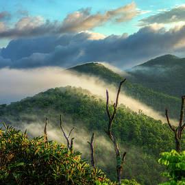 Reid Callaway - Majestic Clouds Blue Ridge Parkway Smoky Mountains Art