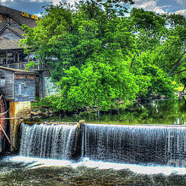 Majestic Old Mill Pigeon Forge Mill Great Smoky Mountains Art by Reid Callaway