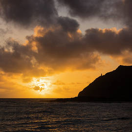 Makapuu Point Lighthouse Sunrise by Brian Harig