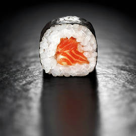 Maki Sushi Roll with Salmon - Johan Swanepoel