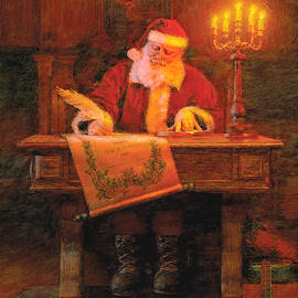 Making a List by Greg Olsen