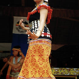 Malay Dancer by Judith Gadbois