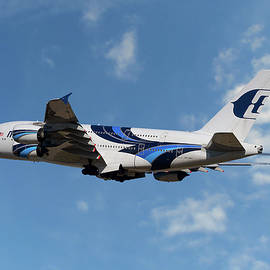 Malaysia Airlines Airbus A380-841 - Nichola Denny