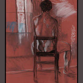 Male Nude by Lynne Guess