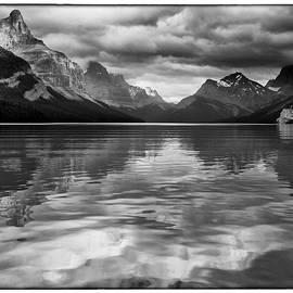 David Beebe - Maligne Lake BW