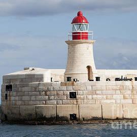 Maltese Lighthouse  by Brenda Kean