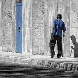 Man Walking by Nikolyn McDonald