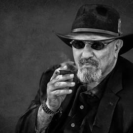Man with Cigar - Smoking by Nikolyn McDonald