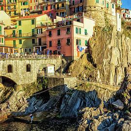 Joan Carroll - Manarola Afternoon Cinque Terre Italy