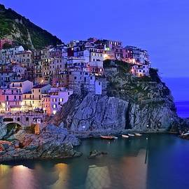 Frozen in Time Fine Art Photography - Manarola Nights