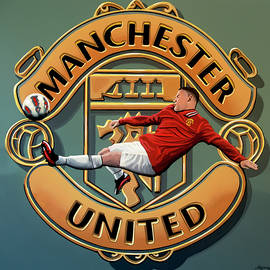 Manchester United Painting - Paul Meijering
