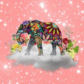Mandala Elephant by Gloria Sanchez