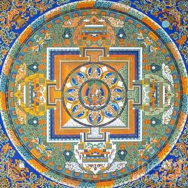 Mandala from Lhasa by Birgit Moldenhauer