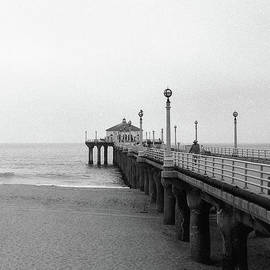 Manhattan Beach Pier on Film - Ana V Ramirez