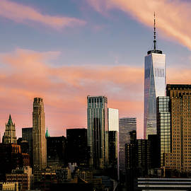Manhattan, New York City Sunset by Alexandre Rotenberg