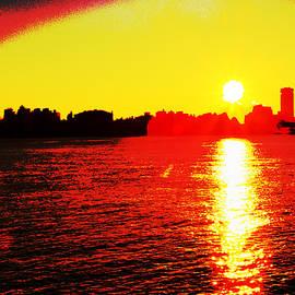 Geraldine Scull - Manhattan sunrise