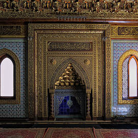 Manial Palace Mosque by Nigel Fletcher-Jones