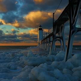 Michael Palko - Manistee North Pierhead Lighthouse #1