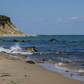 Mansion Beach, Block Island by Linda Howes