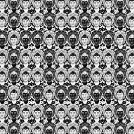 Helena Tiainen - Many Buddhas 1 - Tile Formation