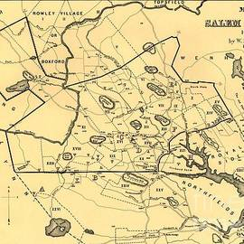 Map Of Salem Village 1692 by Lita Kelley