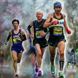Mark Tonelli - Marathon Day