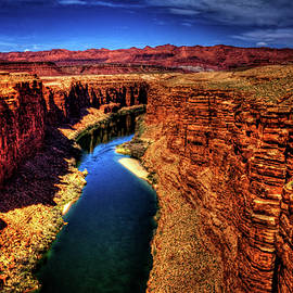 Roger Passman - Marble Canyon from the Navajo Bridge