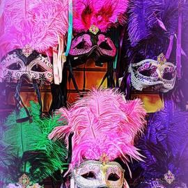 Toni Abdnour - Mardi Gras Masks