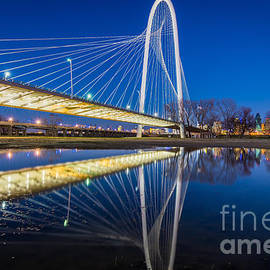 Inge Johnsson - Margaret Hunt Hill Bridge Reflection