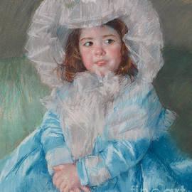 Mary Stevenson Cassatt - Margot Lefebre in Blue