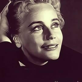 Maria Schell, Vintage Actress - John Springfield