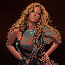 Paul Meijering - Mariah Carey Painting