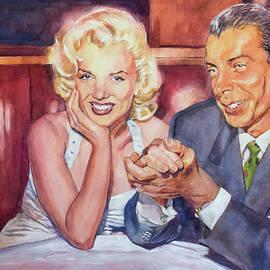 MARILYN and JOE 1952  - David Lloyd Glover