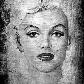 Andrew Read - Marilyn graphite edit