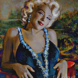 Marilyn Monroe 126 Monalisa by Theo Danella