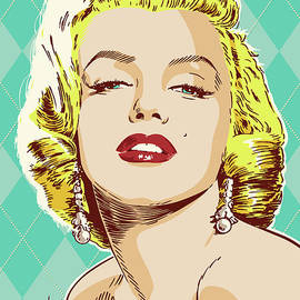 Marilyn Monroe Pop Art - Jim Zahniser