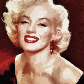 Georgiana Romanovna - Marilyn Monroe Semi Abstract