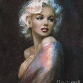 Marilyn romantic WW 4 blue by Theo Danella