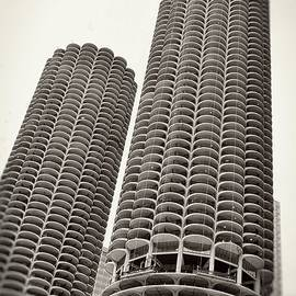 Marina City - Chicago by Michelle Calkins