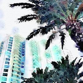 Marina Grande Watercolors by Alice Gipson
