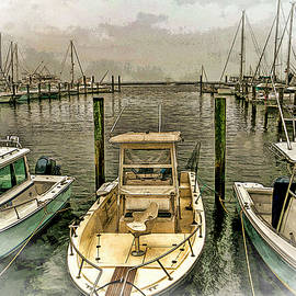 Geraldine Scull - Marina in Atlantic Highlands New Jersey