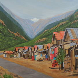 Market Country-side Sikkim by Ajay Harit