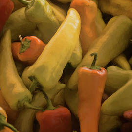Market Peppers by Janice Pariza