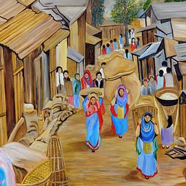 Ajay Harit - Market Scene
