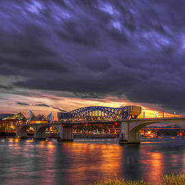 Reid Callaway - John Ross Market Street Bridge Historic Chattanooga Tennessee