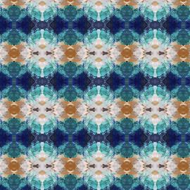 Marrakesh Blues- Art by Linda Woods - Linda Woods