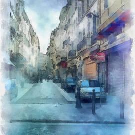 Paulette B Wright - Marseille Back Street